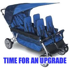 TIME FOR AN UPGRADE | made w/ Imgflip meme maker