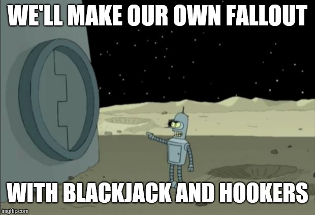 Bender meme blackjack bing quiz