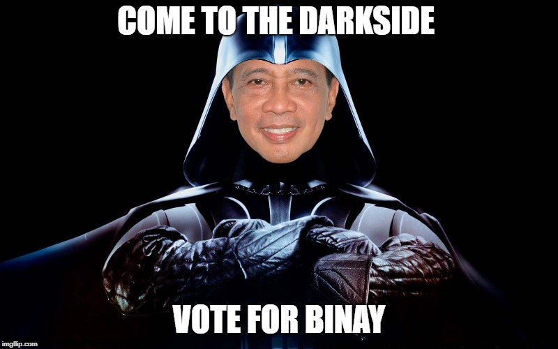 Corrupt Binay | image tagged in corruption | made w/ Imgflip meme maker