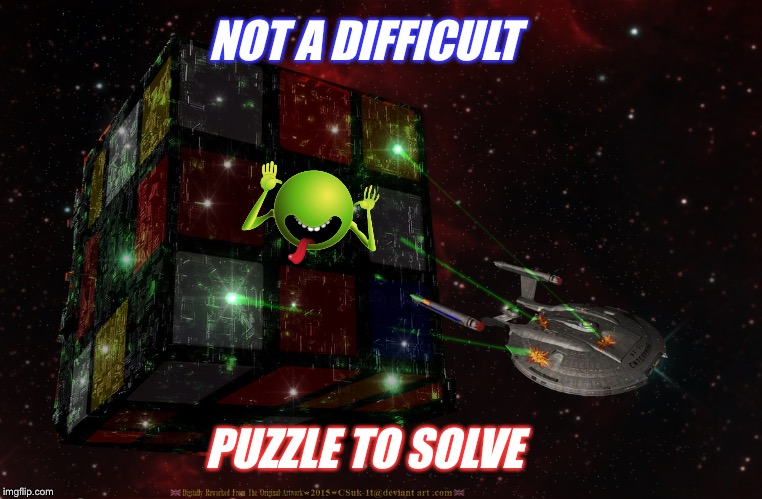 NOT A DIFFICULT PUZZLE TO SOLVE | made w/ Imgflip meme maker