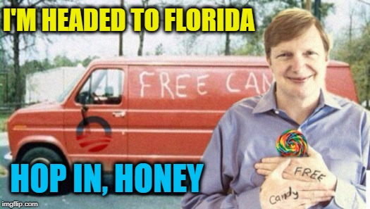 I'M HEADED TO FLORIDA HOP IN, HONEY | made w/ Imgflip meme maker