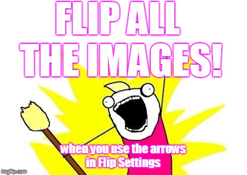 X All The Y Meme | FLIP ALL THE IMAGES! when you use the arrows in Flip Settings | image tagged in memes,x all the y | made w/ Imgflip meme maker