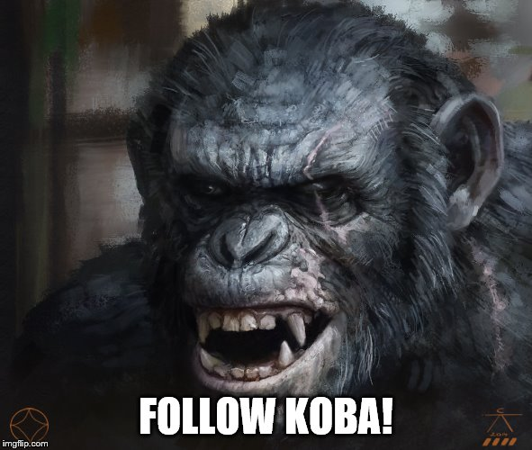 FOLLOW KOBA! | made w/ Imgflip meme maker