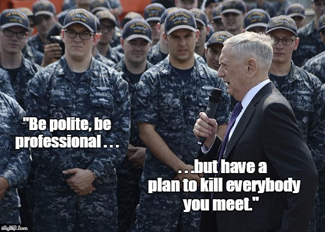 General Mattis Quotes Magnificent Our Secretary Of Defense General James Mattis Quotes The Leading