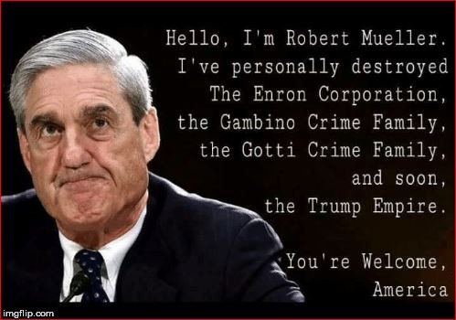 image tagged in trump mueller record | made w/ Imgflip meme maker