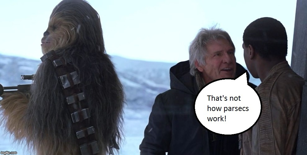 Will this be covered in Solo? | image tagged in star wars,han solo,that's not how the force works,that's not how any of this works | made w/ Imgflip meme maker