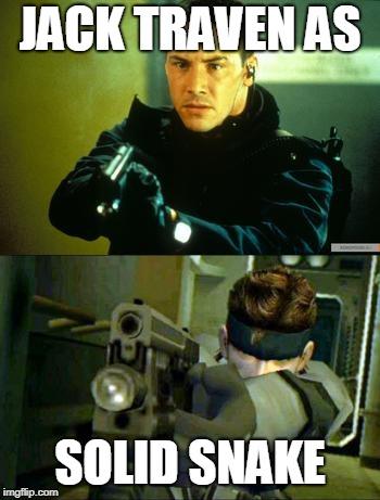 Keanu Reeves As Solid Snake Imgflip