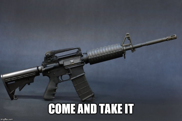 COME AND TAKE IT | made w/ Imgflip meme maker