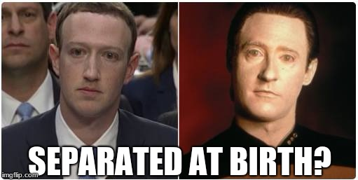 Image result for meme zuckerberg and data