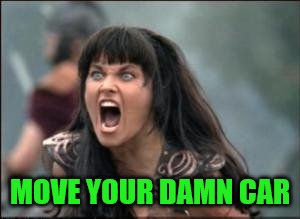 MOVE YOUR DAMN CAR | made w/ Imgflip meme maker