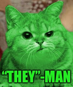 "RayCat Annoyed | ""THEY""-MAN 