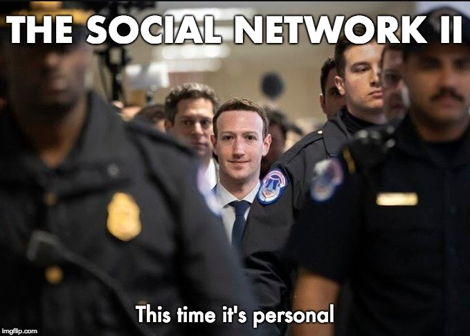THE SOCIAL NETWORK II This time it's personal | image tagged in the social network | made w/ Imgflip meme maker