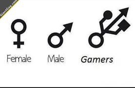 male, female, gamer. | image tagged in memes | made w/ Imgflip meme maker