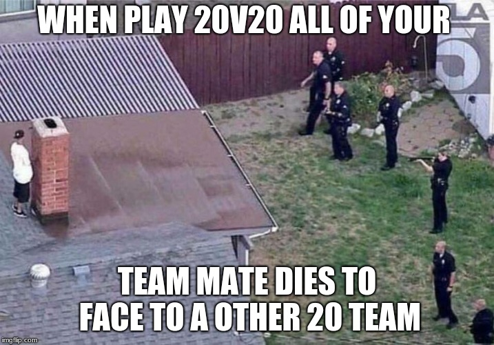 Fortnite meme | WHEN PLAY 20V20 ALL OF YOUR TEAM MATE DIES TO FACE TO A OTHER 20 TEAM | image tagged in fortnite meme | made w/ Imgflip meme maker