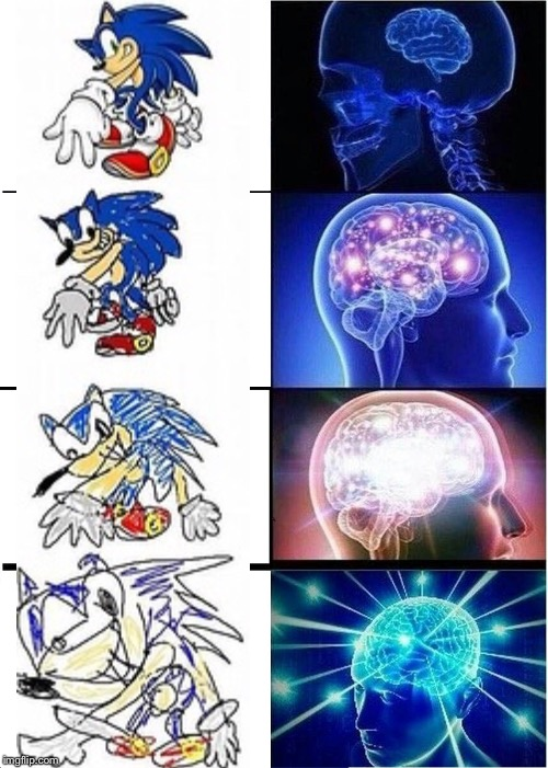 4 stages of insanity  | image tagged in memes,expanding brain | made w/ Imgflip meme maker