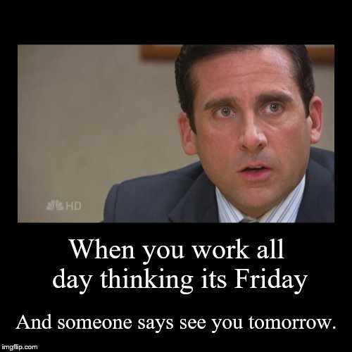 image tagged in friday,the office,michael scott,work | made w/ Imgflip meme maker