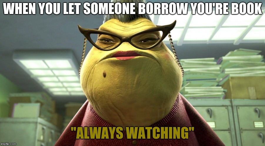"Always watching | WHEN YOU LET SOMEONE BORROW YOU'RE BOOK ""ALWAYS WATCHING"" 