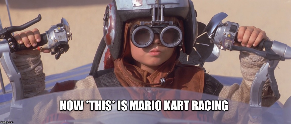 NOW *THIS* IS MARIO KART RACING | made w/ Imgflip meme maker