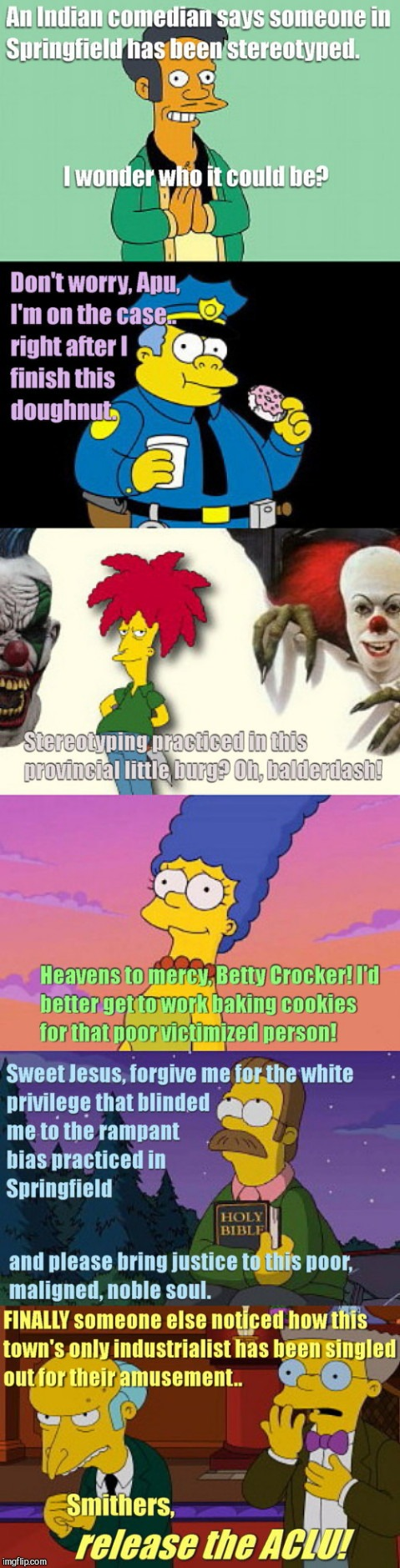 image tagged in springfield's elephant in the room,apu controversy,the simpsons,funny | made w/ Imgflip meme maker