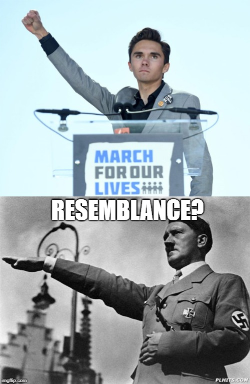 RESEMBLANCE? | image tagged in david hogg | made w/ Imgflip meme maker