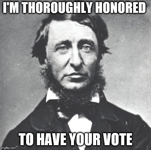 I'M THOROUGHLY HONORED TO HAVE YOUR VOTE | made w/ Imgflip meme maker