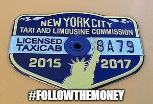 #FollowTheMoney | #FOLLOWTHEMONEY | image tagged in taxi,michael cohen | made w/ Imgflip meme maker