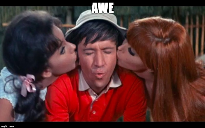 gilligan | AWE | image tagged in gilligan | made w/ Imgflip meme maker