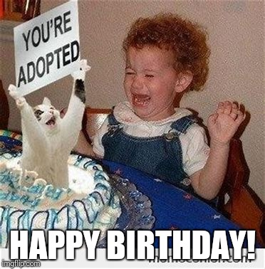 HAPPY BIRTHDAY! | image tagged in best present ever | made w/ Imgflip meme maker