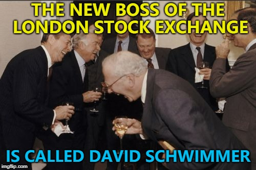 "True story - I suspect he's heard all the ""Friends"" jokes... :) 