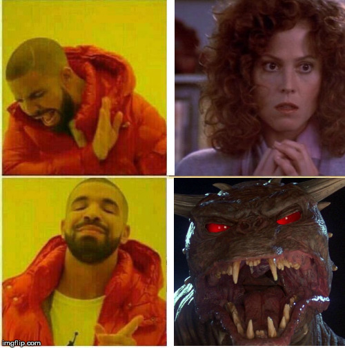 There is no Drake.  | image tagged in drake,ghostbusters,zuul,dana,memes | made w/ Imgflip meme maker