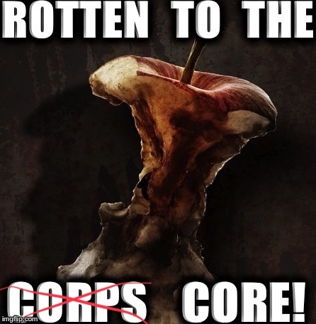 Marine Core! | image tagged in donald trump,45th president,potus45 | made w/ Imgflip meme maker