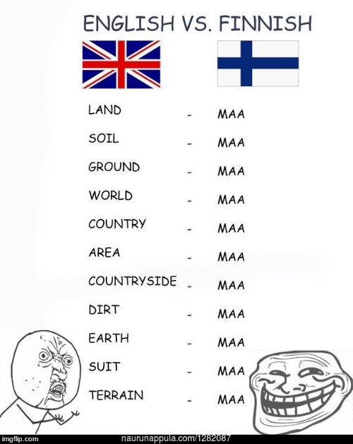 Maa | image tagged in finland | made w/ Imgflip meme maker