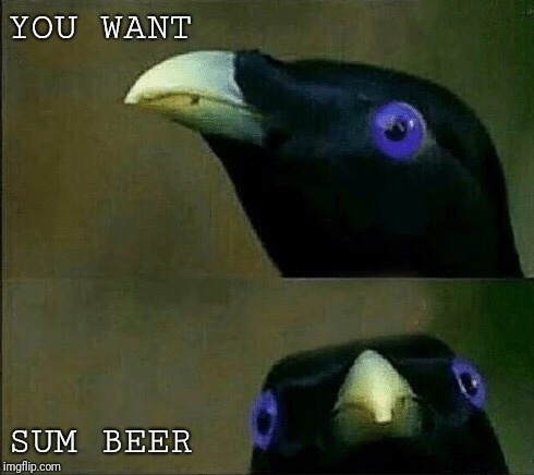YOU WANT SUM BEER | image tagged in you want sum fuk | made w/ Imgflip meme maker
