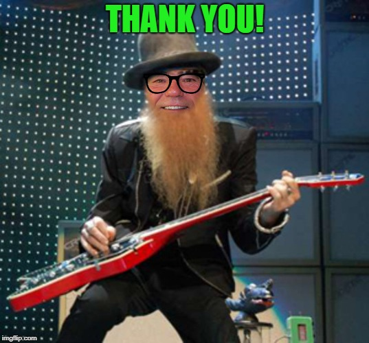 rocker coollew | THANK YOU! | image tagged in rocker coollew | made w/ Imgflip meme maker
