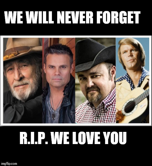 These fallen legends were never mentioned at the ACM awards | WE WILL NEVER FORGET R.I.P. WE LOVE YOU | image tagged in country music | made w/ Imgflip meme maker