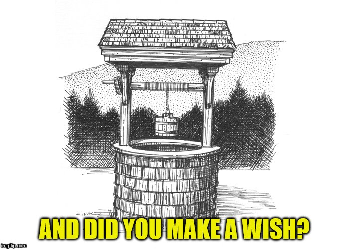AND DID YOU MAKE A WISH? | made w/ Imgflip meme maker