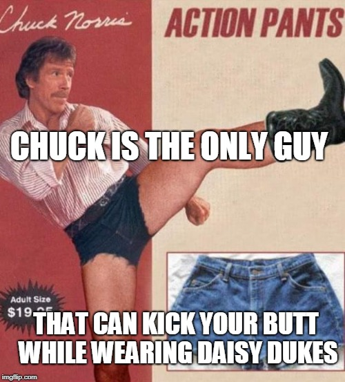 """Action Pants"" 