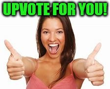 woman thumbs up | UPVOTE FOR YOU! | image tagged in woman thumbs up | made w/ Imgflip meme maker