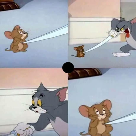 Tom And Jerry When You Are Dead Inside Blank Template Imgflip
