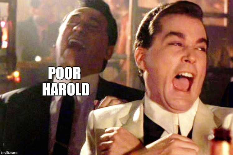 POOR HAROLD | made w/ Imgflip meme maker