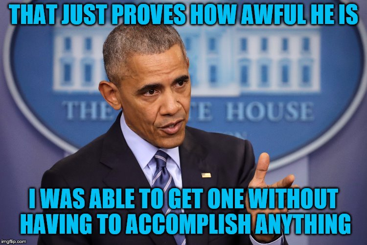 THAT JUST PROVES HOW AWFUL HE IS I WAS ABLE TO GET ONE WITHOUT HAVING TO ACCOMPLISH ANYTHING | made w/ Imgflip meme maker