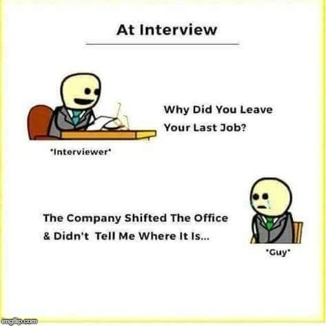 So sad :(  | image tagged in job interview | made w/ Imgflip meme maker