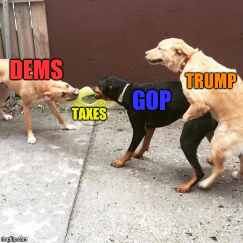 This Is My Life | DEMS TAXES GOP TRUMP | image tagged in this is my life | made w/ Imgflip meme maker