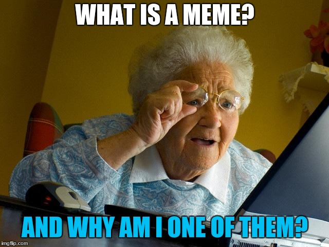 Grandma Finds The Internet Meme | WHAT IS A MEME? AND WHY AM I ONE OF THEM? | image tagged in memes,grandma finds the internet | made w/ Imgflip meme maker