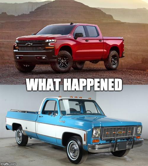 What Happened | WHAT HAPPENED | image tagged in chevy | made w/ Imgflip meme maker
