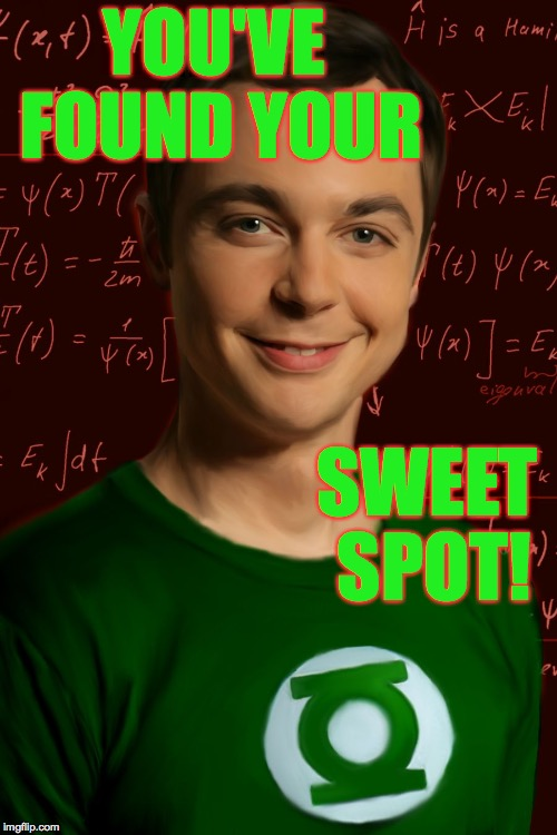 YOU'VE FOUND YOUR SWEET SPOT! | made w/ Imgflip meme maker