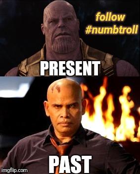 Thanos without CGI - Imgflip