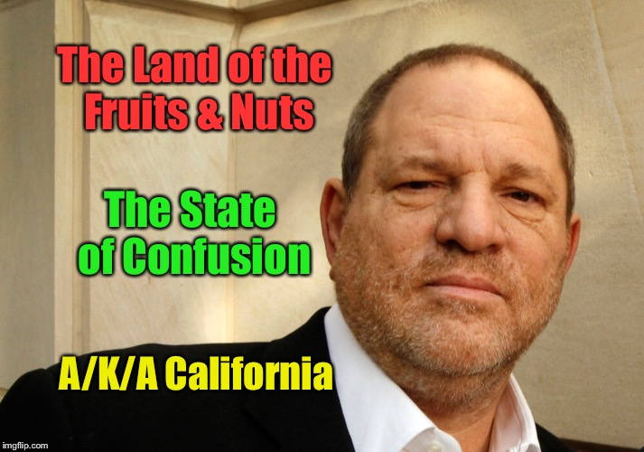 The Land of the Fruits & Nuts The State of Confusion A/K/A California | made w/ Imgflip meme maker