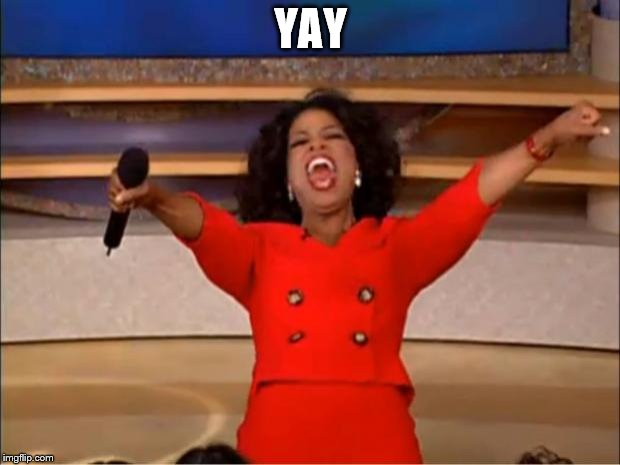 Oprah You Get A Meme | YAY | image tagged in memes,oprah you get a | made w/ Imgflip meme maker