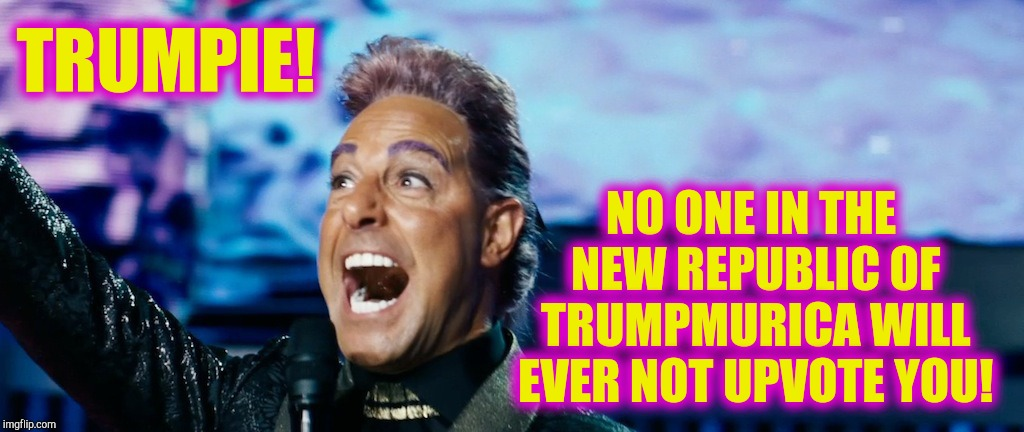 "Hunger Games - Caesar Flickerman (Stanley Tucci) ""It's showtime! 